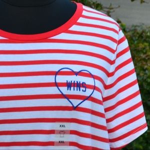 NWT Old Navy XL 16/18 and XXL 20 Love Wins Tee